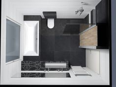 Here is a collection of the latest small bathroom designs for you, if you are bored with your old bathroom, you can find the latest ideas here. Bathroom Tile Designs, Bathroom Design Small, Bathroom Layout, Bathroom Colors, Bathroom Interior, Modern Bathroom, Small Bathrooms, Bad Inspiration, Bathroom Inspiration