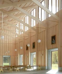 Interesting Find A Career In Architecture Ideas. Admirable Find A Career In Architecture Ideas. Timber Architecture, Timber Buildings, Church Architecture, Architecture Design, Timber Roof, Timber Structure, Clerestory Windows, Roof Design, Architectural Models