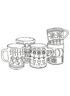 Coffee And Tea Cups Stack Life Verse Creative Journal