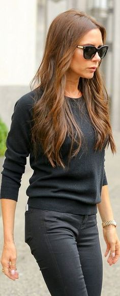 Victoria Beckham: Sweater – Victoria Beckham Collection  Watch – Rolex