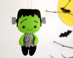 Halloween decoración novia de Frankenstein Creepy Cute Doll by BelkaUA | Etsy