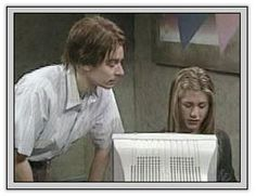 "It's Nick Burns (SNL's Jimmy Fallon), your company's computer guy.  ""I don't like this new program...it's crap. I don't know why we switched!""  ""Um, because the new program is written for OS 8 and can function twice as fast. Is that enough reason, Nancy Drew?.....MOooooooooove."""