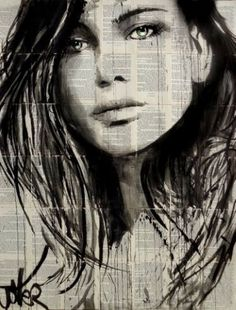 "Saatchi Art Artist LOUI JOVER; Drawing, ""for her"" #art"