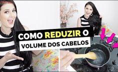 COMO REDUZIR O VOLUME DOS CABELOS COM RECEITAS CASEIRAS + DICAS PODEROSAS! por Julia Doorman