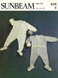 Items similar to PDF Vintage Baby Knitting Pattern Sunbeam 936 Romper Zipper Play Suit Baby Gro Onesie Sailor all in one Nautical Sleep Slumber Bedtime on Etsy Baby Knitting Patterns, Crochet Patterns, Quick Knits, First Baby, Vintage Knitting, Sailor, Cute Babies, All In One, Nautical