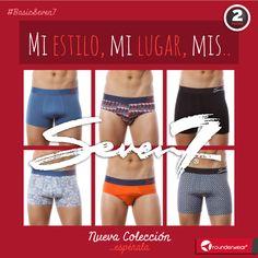 Los nuevos colores ya están por todo Sears... ¡Ya tienes los tuyos? #Rounderwear #Seven7 #Underwear