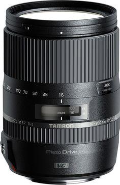 Tamron - 16-300mm f/3.5-6.3 Di II VC PZD Macro All-in-One Zoom Lens for Nikon - Black