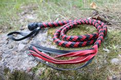 BDSM Leather Whip - Knout Whip by BDDSSMToys on Etsy