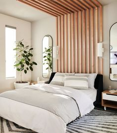 Sunny Scandinavian: The Full Home Tour (And Everything You Need To Get The Look) - Bobby Berk Bedroom Inspo, Home Bedroom, Bedroom Decor, Bedroom Signs, Bedroom Rustic, Master Bedrooms, Bedroom Apartment, Bedroom Ideas, Bedroom Styles