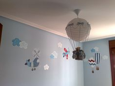 globos aerostaticos para baby shower - Google Search