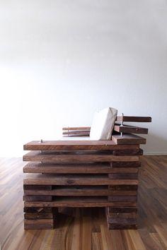 Design-Sofa aus Holz in Ihren Lieblingsfarben