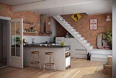 Open keuken ideeën   Interieur inrichting