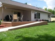 Wheelchair Ramp   Deck