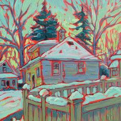Oil on acrylic painting on canvas South by brendonfarley Minneapolis Neighborhoods, Acrylic Painting Canvas, The Neighbourhood, Oil, Studio, Nature, Etsy, The Neighborhood, Naturaleza