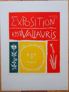 Pablo Picasso poster Limited edition by ValueVintagePrints