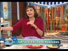 Tarta de manzanas invertida en sartén - YouTube