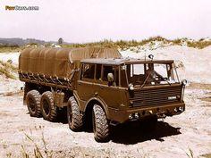 Tatra T813 TP 8x8 1967–82
