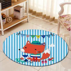 The cutest little fox rug