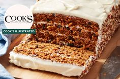 It's unlike any other carrot cake we've seen. Tea Cakes, Cupcake Cakes, Cupcakes, Just Desserts, Dessert Recipes, Carrot Cake Recipes, Dessert Ideas, Frosting Recipes, Food Ethics