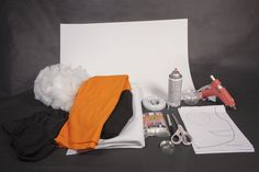 DIY Nemo Costume Supplies