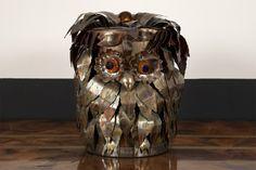 1970s Owl Ice Bucket