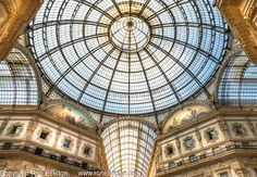 Galleria Vittorio Emanuele ll Milan Italy Artistic Photography by Ron Elledge