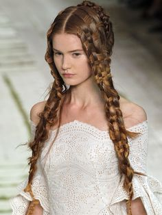 ~ beautiful woven braids