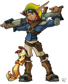 I love Jak and Daxter