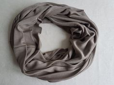 Schlupfschal Rundschal Damen Schal Baumwolle Fleece Handarbeit neu