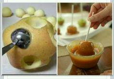 Caramel apple minis