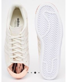 BeautyKosmetics: Shop Like Me - Adidas - Superstar 80's Gold Pink