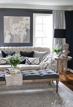 How One Couch Inspired a Living Room Transformation | Window, Living ...