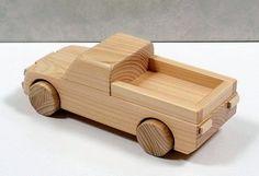 木のおもちゃ・トラックA  おもちゃ・人形 ウッド・スマイル ハンドメイド通販・販売のCreema