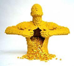 Les sculptures en Lego de Nathan Sawaya sculpture lego art 06 art