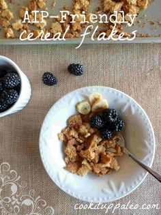 Cereal Flakes | Cook It Up Paleo