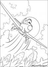 Planes coloring pages on Coloring-Book.info
