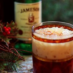 The perfect cocktail for Christmas or New Year's Eve combines eggnog with Kahlua and Jameson Irish Whiskey. I just like eggnog so i'll try it soon:)