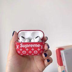 Sup x LV Casing Apple® AirPods pro – Kingcases Store Nike Phone Cases, Iphone Phone Cases, Airpod Pro, Airpod Case, Cute Ipod Cases, Supreme Case, Apple Wallpaper Iphone, Earphone Case, Jaba