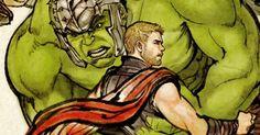 "Thor: Ragnarok Korean Art Poster : 雷神シリーズの最新作「ソー: ラグナロク」のドクター・ストレンジまで登場した韓国版のユニークな古典アートのポスター ! ! - 土俵こそないものの、相撲に似た格闘技と言われる "" シルム "" で、雷神とハルクが対決するのを、ドクター・ストレンジたちが見物しています!! | CIA Movie News | Thor, Otaku, Avengers, Comic Art, Chris Hemsworth, Benedict Cumberbatch, Mark Ruffalo, Tom Hiddleston, Cate Blanchett, Hulk, Jeff Goldblum, Anthony Hopkins, Tessa Thompson, Idris Elba - 映画 エンタメ セレブ & テレビ の 情報 ニュース from CIA Movie News / CIA こちら映画中央情報局です"