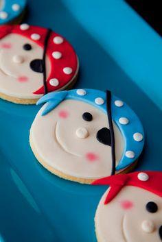 Fiesta de pirata-galletas