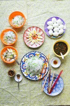 Vietnamese (vegetarian) Rice Noodle Salad