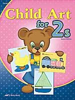"""I'm going to """"homeschool"""" Joseph with A Beka Book's two-year old curriculum.  Here's the art book."""
