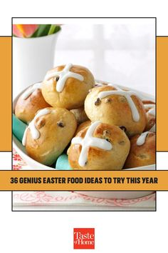These Easter food ideas take your holiday celebration to a new level. In this collection you'll find bunny-shaped recipes, clever uses for Easter candy, traditional favorites and more. Easter Food, Easter Candy, Easter Brunch, Spring Recipes, Easter Recipes, Sunflower Cakes, Ice Cream Desserts, Cream Cheese Filling, Italian Desserts