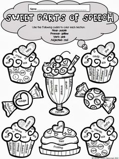 here is a cute way to have your students practice parts of speech around valentines day there are 68 words to sort into nouns pronouns verbs