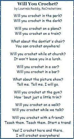 A little crochet humor :-)