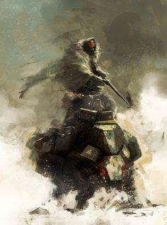 Mecha cavalry