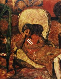 Pierre Bonnard Detail The Vigil oil on cardboard, x cm, Private collection. Watercolor Artists, Oil Painting Abstract, Figure Painting, Painting & Drawing, Painting Lessons, Watercolor Painting, Pierre Bonnard, Edouard Vuillard, Great Paintings