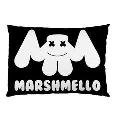 FORTNITE MARSHMELLO STANDARD SIZE PILLOW CASE Custom Pillow Cases, Throw Pillow Cases, Custom Pillows, Marshmello Alone, 100 Fun, Game R, Queen Duvet, Logan, Free Gifts