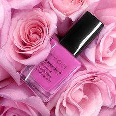 AVON  Nailwear Pro+ Nail Enamel in Orchid Splash. order at: www.youravon.com/ladylattier