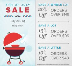4th of July Sale at GreenBox Art | Shop More, SAVE MORE through July 7th. Take 20%, 15%, or 10% Off Today!